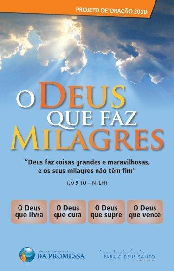 O Deus que faz milagres - Portal IAP