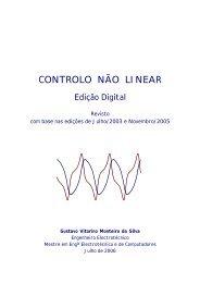 Controlo não linear - ETLA