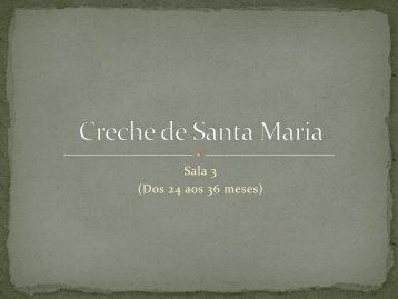 Creche de Santa Maria - Centro Solidariedade e Cultura de Peniche