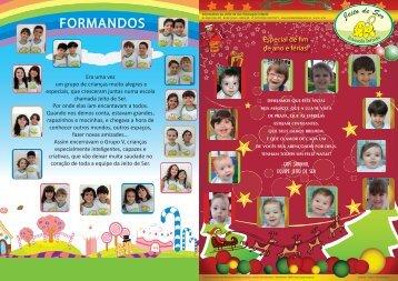 FORMANDOS - Creche Jeito de Ser