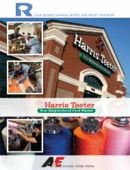 Ruddick Corp. Annual Report 2009
