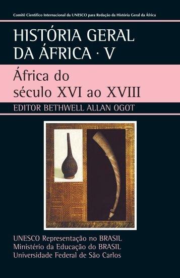 África do século XVI ao XVIII - unesdoc - Unesco