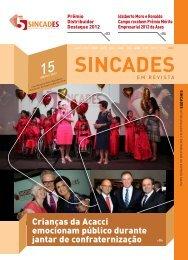 Prêmio Distribuidor Destaque 2012 premia empresas em ... - Sincades