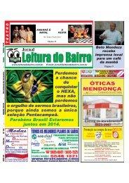 Edição Julho/2010 - Jornal Leitura do Bairro