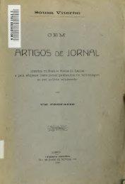 Cem artigos de jornal : insertos no Diario de noticias de Lisboa e ...
