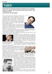 Leia a entrevista completa realizada por Vera Saavedra - Inesc