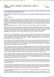 REVISTA ELETRÔNICA INTERNACIONAL DIREITO e CIDADANIA