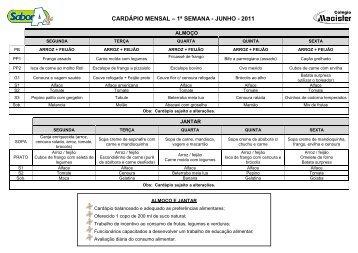 Cardapio - Sabor A+ - Junho - Ning