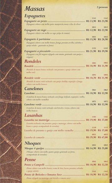 Cardápio - Céu da Boca - Bar e Restaurante