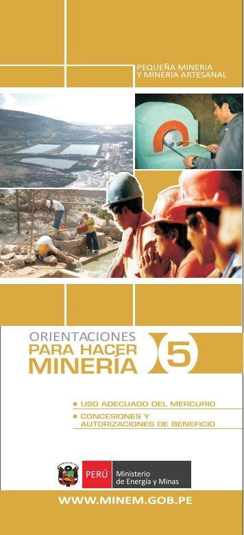 descargar folleto - Ministerio de Energía y Minas