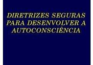 Diretrizes Seguras para desenvolver a Autoconsciência 07 - Espiritizar