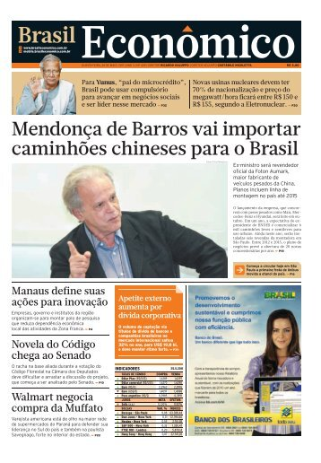 BrECO_439 (QUINTA) : Plano 40 : 1 ... - Brasil Econômico