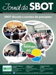 SBOT discute a carreira do preceptor - Sociedade Brasileira de ...