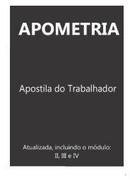 Apostila Apométrica do Trabalhador - Mega Rio Preto