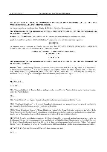 decreto por el que se reforman diversas disposiciones ... - IDCOnline