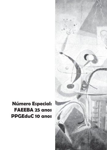 Número Especial: FAEEBA 25 anos PPGEduC 10 anos - Uneb