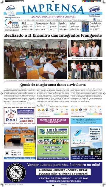 Realizado o II Encontro dos Integrados Frangoeste - Jornal Imprensa