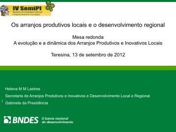 Helena Maria Martins Lastres - UFPI