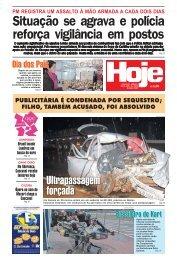 Situação se agrava e polícia reforça vigilância em postos - Jornal Hoje