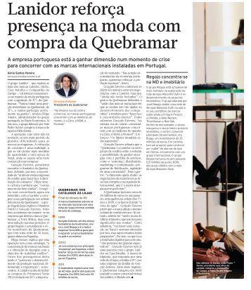 Diário Económico | Lanidor reforça presença na moda