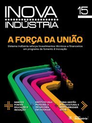 Sistema Indústria reforça investimentos técnicos e financeiros em ...