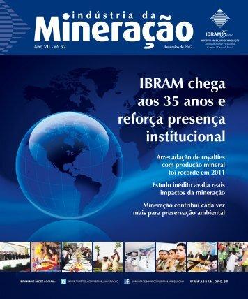 IBRAM chega aos 35 anos e reforça presença institucional