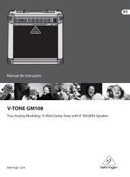 V-TONE GM108 - Behringer