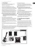 V-TONE GM108 - Behringer - Page 5
