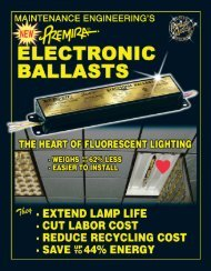 Electronic Ballasts - S and B Lighting
