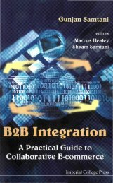 B2B Integration : A Practical Guide to Collaborative E-commerce