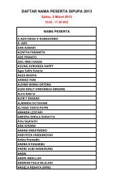 Sabtu, 02 Maret 2013 - FHP Education of Law