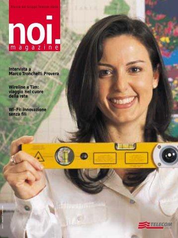 NOI.magazine - N2 Tutto.qxd - Telecom Italia