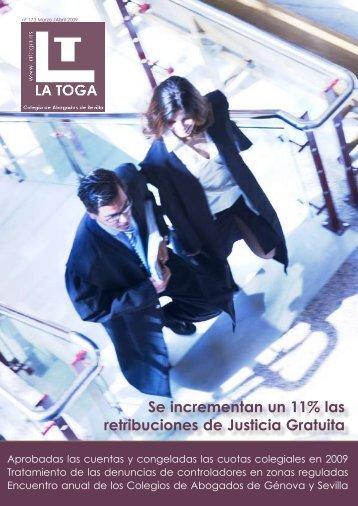Se incrementan un 11% las retribuciones de Justicia ... - LA TOGA