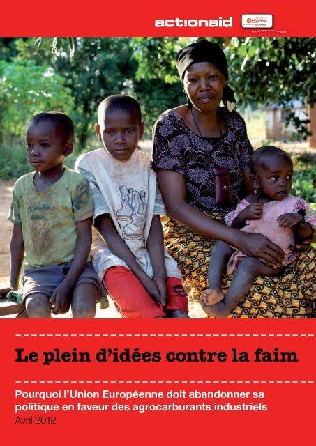 Le plein d'idées contre la faim (pdf - Peuples solidaires