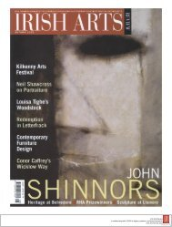 autumn 2002 - Irish Arts Review