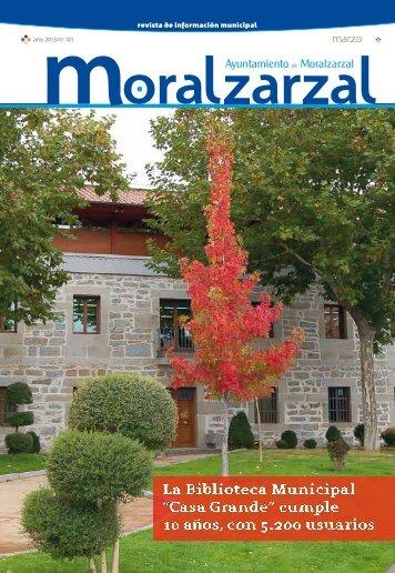 Décimo cumpleaños - Ayuntamiento de Moralzarzal