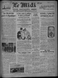 VIVE L UNITE SYNDICALE! - Bibliothèque de Toulouse