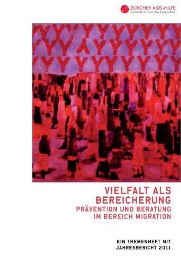 Jahresbericht 2011 - Zürcher Aids-Hilfe