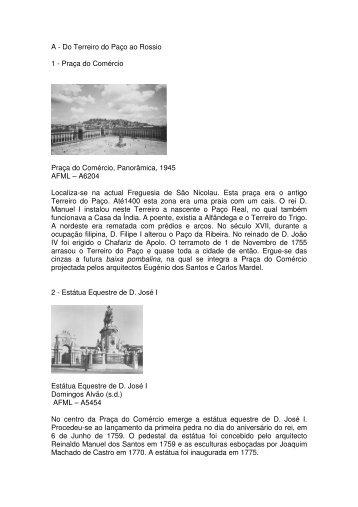 Itinerário A - Do Terreiro do Paço ao Rossio - RevelarLX