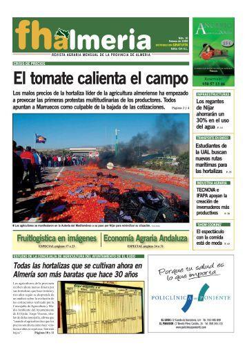 Febrero 2009 - Frutas y Hortalizas de Almería