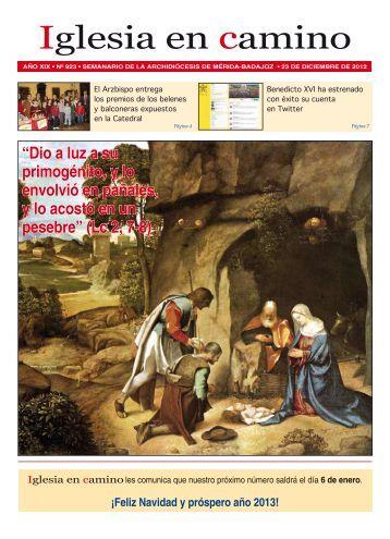Iglesia en camino 23-Diciembre-2012 - Christus Rex