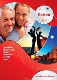 Rundreise • 4 Tage - Autobus AG Liestal