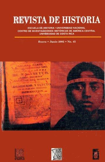 revista de historla - Revista Historia - Universidad de Costa Rica