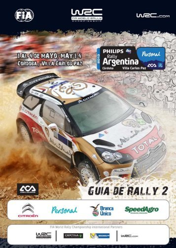 Guía de Rally 2 2013 - Rally Argentina