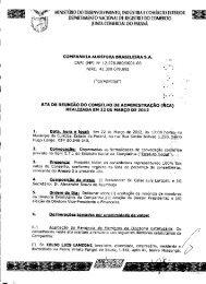 Reunião do Conselho de Administração - Companhia Aurífera ...