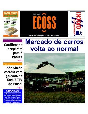 Jornal Ecoss Edição Nº 45 - Ogawa Butoh Center