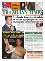 Imigrantes de Worcester preparam manifesto para ... - Brazilian Times