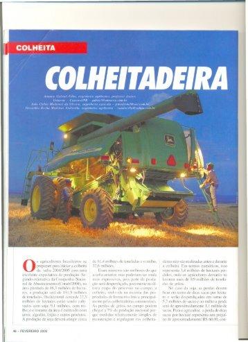 os agricultores brasileiros se preparam para iniciar a colheita ... - LEB