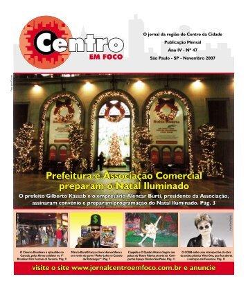 Prefeitura e Associação Comercial preparam o Natal ... - Viva o Centro