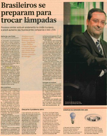 Brasileiros se preparam para trocar lâmpadas - Sustentabilidade ...